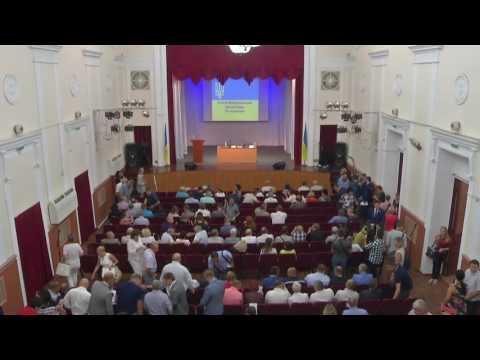 Внеочередная сессия Мариупольского городского совета