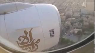 Emirates B773 at Dubai crash FULL ATC AIR TRAFFIC CONTROL