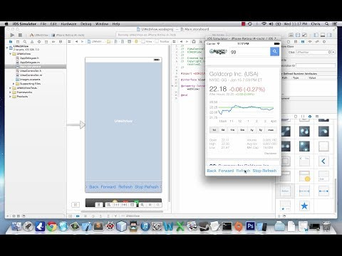 IOS Application Development Tutorial 7: UIWebView In…