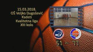 kk ibc kk sava 51 77 (kadeti, 15 03 2018 ) košarkaški klub sava