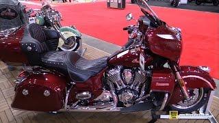 10. 2017 Indian Roadmaster - Walkaround - 2017 Toronto Motorcycle Show