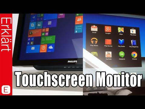 Bester Bildschirm mit Touchscreen & Android?! - Philips S231C Monitor - Test / Review (Deutsch)