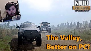 SpinTires MudRunner: Is THE VALLEY DLC Better on PC? NEW FACECAM!