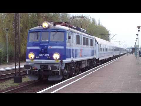 Trains / Pociągi Eurocity Intercity TLK w Koninie EU07 EP09 EP07