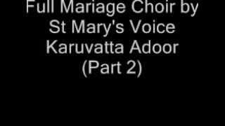 Christian Orthodox Marriage Choir Full(Part2)