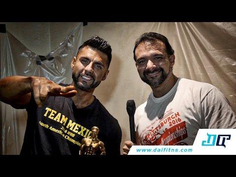 Entrevista IFBB Pro Alexander Herrera
