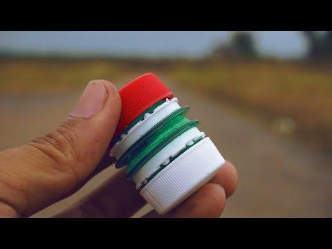 chế lựu đạn ném là nổ , bằng chai nhựa và diêm - Thời lượng: 4:57.