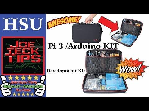 HSU Development Kit for Raspberry Pi 3 and Arduino | JoeteckTips