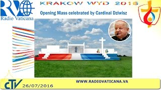 Mass opening World Youth Day