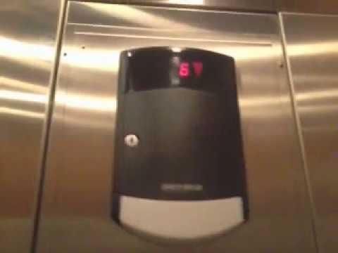 Schindler HT 400A elevators at Green Lane Building Kean University