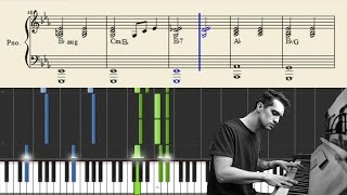 Panic! At The Disco: Impossible Year (Piano Accompaniment) - Tutorial + Sheets