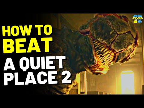 """How to Beat the ARMORED ALIENS in """"A QUIET PLACE: PART 2"""" (2020)"""