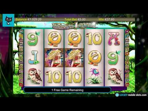 Unicorn Legend Mobile Slot Video Review