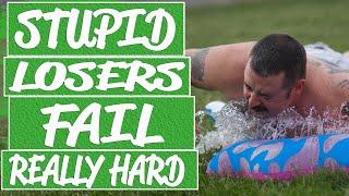 Video Hard and extreme fails make you laugh out loud || Bike fails, parkour fails, winter fail compilation MP3, 3GP, MP4, WEBM, AVI, FLV Juni 2019