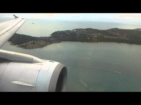 Welcome to Koh Samui! Full Approach, Landing and Taxi with Bangkok Airways A319 (May 27th, 2012)
