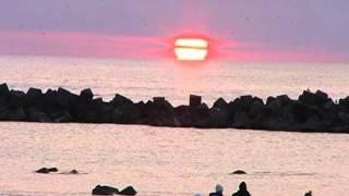 2012年初日の出 永崎海岸