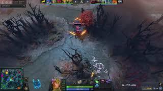 Spirit vs Na`Vi, Dota PIT League, game 1 [v1lat, GodHunt]