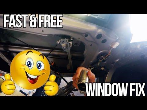 How to: Nissan 350z Quick Window Fix
