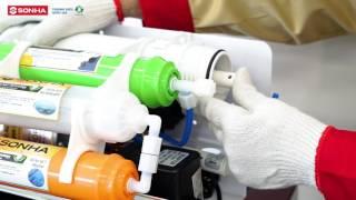Hướng dẫn lắp đặt Máy lọc nước RO 2017