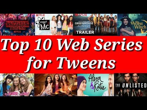 Top 10 Web Series for Tweens |10 Best Web Series|Top TV shows|Best web series online|Entertainment