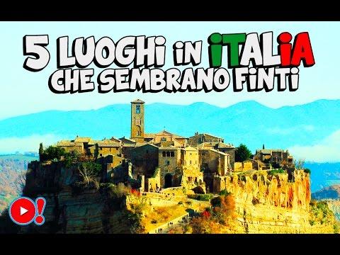 5 luoghi in italia che sembrano finti - da vedere!
