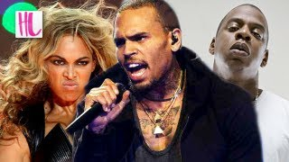 Chris Brown Disses Jay-Z & Drake For Beyonce And Rihanna