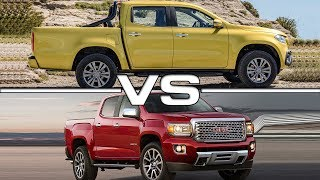 2018 Mercedes X-Class vs 2017 GMC Canyon DenaliMusic provided by Frequency. Track: Hoved - No Love Link: https://youtu.be/yZ8zCqr6tD0
