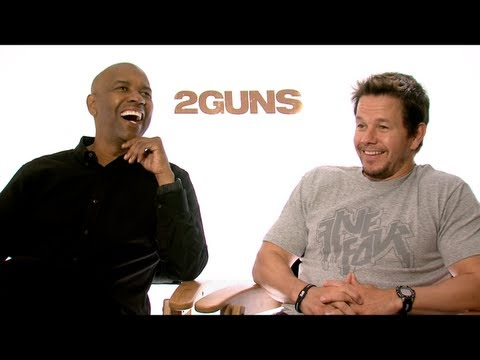 denzel - Emmy winner Jake Hamilton sits down to talk with the stars of 2 GUNS -- Denzel Washington, Mark Wahlberg, Paula Patton and Bill Paxton -- only on JAKE'S TAKE...