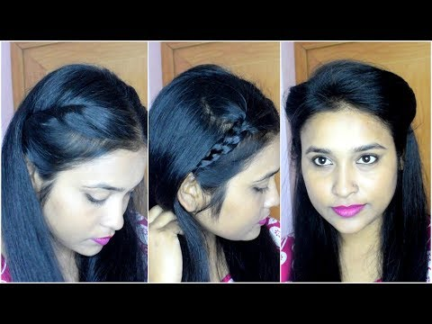 3 Easy Hairstyles in 3 Min