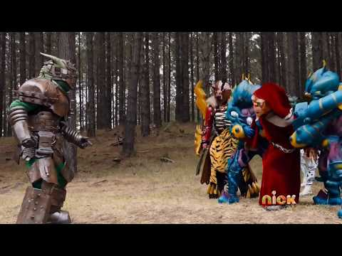 "Power Rangers Dino Charge - Sledge vs Keeper | Episode 20 ""One More Energem"""