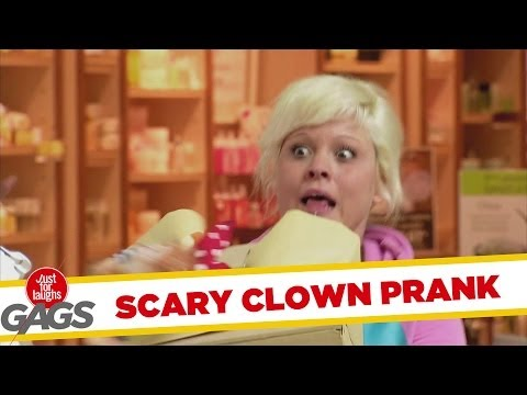 Nightmare Scary Clown In The Box - Youtube