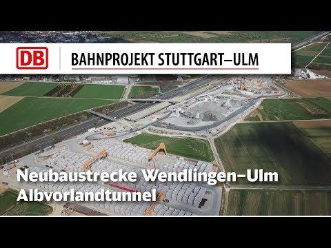 2.) Albvorlandtunnel Ostportal