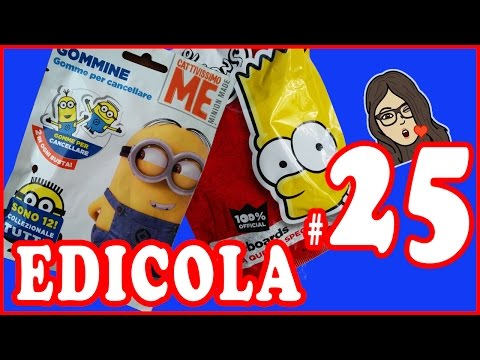 EDICOLA #25: I Simpsons & Cattivissimo Me Minions (видео)