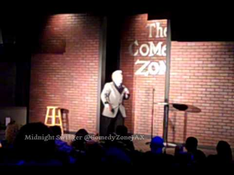 Midnight Swinger at the Comedy Zone JAX