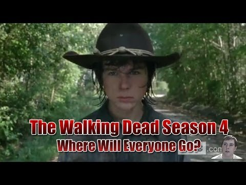 walking - The Walking Dead Season 4 Returns February -Where Will Everyone Go? Alright what's going on guys it's Trev back again here to bring you another video. In thi...