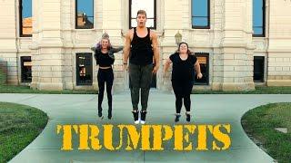 #TrumpetsChallenge | Sak Noel & Salvi feat. Sean Paul | The Fitness Marshall | Cardio Concert Video