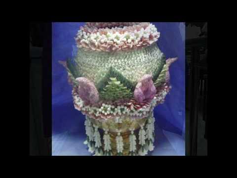 (รูปพาน) - งานพานพุ่มและงานแกะสลักจาก Flower@Heart รับงาน event และ wedding งานอื่นๆนอกสถานที่ ทุกโอกาส สนใจ Tel. 0846752791...