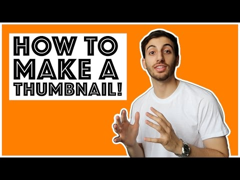 How To Make A Catchy Youtube Thumbnail With Photoshop! (Tutorial)