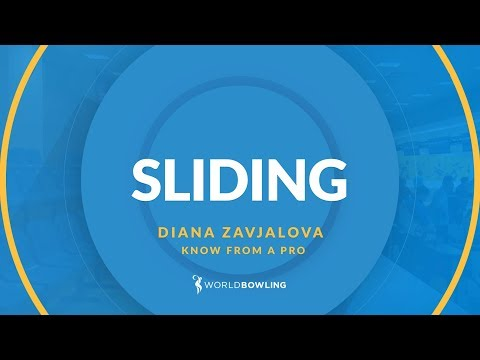 The Perfect Slide - Know From a Pro with Diana Zavjalova - World Bowling