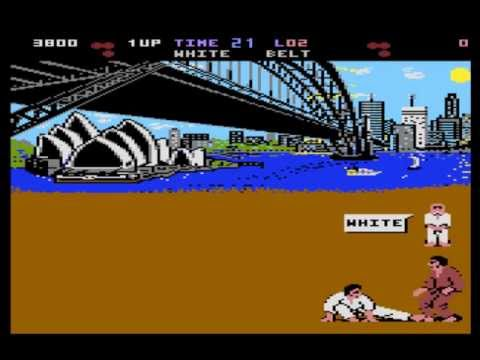 international karate atari st