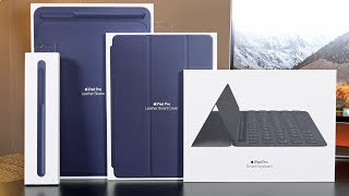 """Quick look at all of the new Apple accessories for the iPad Pro 10.5"""".Smart KeyboardLeather SleeveApple Pencil CaseSmart CoverFull Smart Keyboard Review: https://youtu.be/d5DGhcqlIecThanks for Watching!Please Like and Subscribe▶Subscribe: http://goo.gl/UEhJs▶Facebook: http://www.facebook.com/DetroitBORG▶Twitter: http://www.twitter.com/DetroitBORG▶Snapchat: https://www.snapchat.com/add/thedetroitborg▶Instagram: http://www.instagram.com/DetroitBORG"""