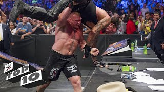 Nonton Big men breaking tables: WWE Top 10, Dec. 18, 2017 Film Subtitle Indonesia Streaming Movie Download