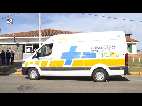 Guichón recibió ambulancia equipada para cuidados intensivos