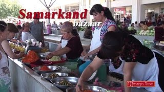 Samarkand Uzbekistan  city photos gallery : # 10 Zijderoute - Samarkand, visiting a Bazaar( Uzbekistan )