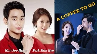 "Video Kim Soo Hyun and Park Shin Hye ""A Coffee To Go"" MP3, 3GP, MP4, WEBM, AVI, FLV Maret 2018"