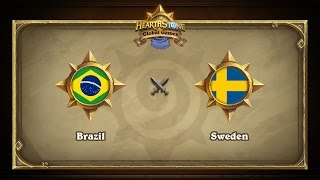 BRA vs SWE, game 1