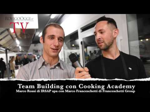 Team Building A Cooking Academy Con Irsap Spa