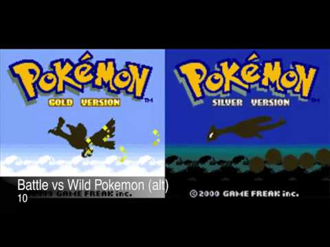 Pokemon Gold & Silver Complete Soundtrack OST - Gameboy