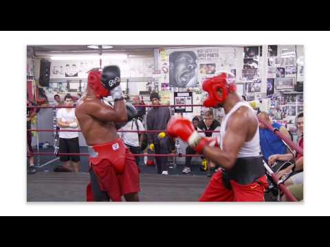 mma ultimate set anderson silva sparring at wild card boxing club sport intensity. Black Bedroom Furniture Sets. Home Design Ideas