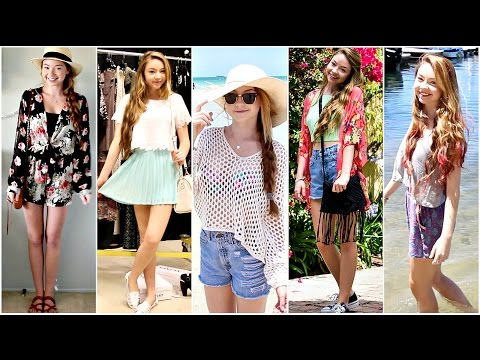 Outfits of the Week: Summer Break!